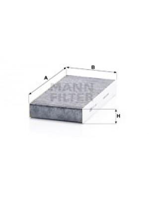 MANN-FILTER CUK 2327-2 - Filter, Innenraumluft - adsotop