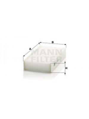 MANN-FILTER CU 1721-2 - Filter, Innenraumluft