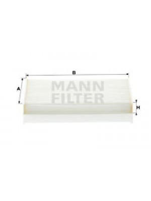 MANN-FILTER CU 17 001 - Filter, Innenraumluft