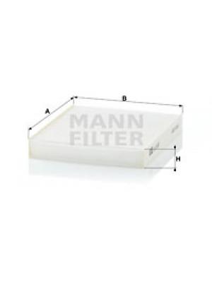 MANN-FILTER CU 19 001 - Filter, Innenraumluft