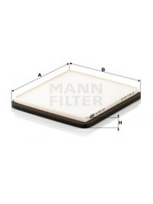 MANN-FILTER CU 20 010 - Filter, Innenraumluft