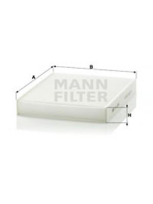 MANN-FILTER CU 2559 - Filter, Innenraumluft