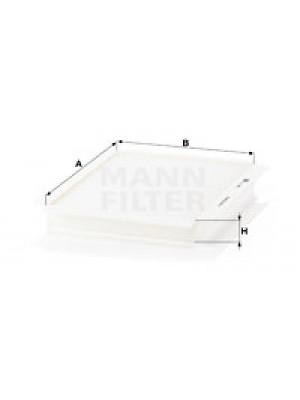 MANN-FILTER CU 2622 - Filter, Innenraumluft