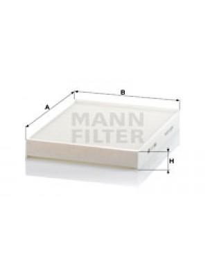MANN-FILTER CU 2842 - Filter, Innenraumluft