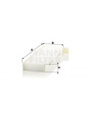 MANN-FILTER CU 29 003-2 - Filter, Innenraumluft