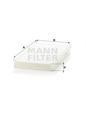 MANN-FILTER CU 3139 - Filter, Innenraumluft