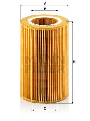 MANN-FILTER C 1036/1 - Luftfilter