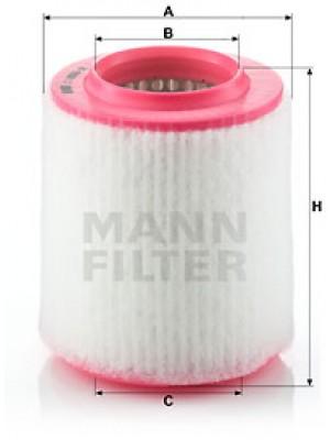 MANN-FILTER C 1652/2 - Luftfilter