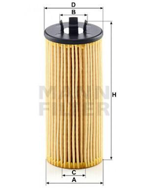 MANN-FILTER HU 6015 z KIT - Ölfilter