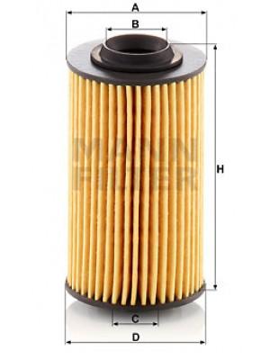 MANN-FILTER HU 69/3 x - Ölfilter