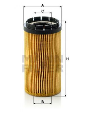 MANN-FILTER HU 718 x - Ölfilter