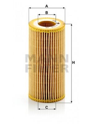 MANN-FILTER HU 719/6 x - Ölfilter