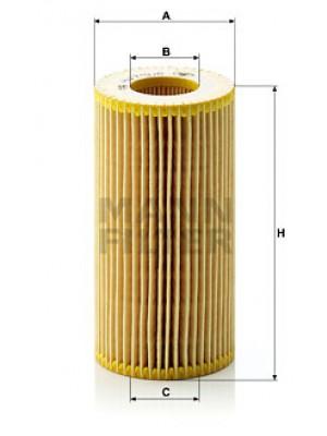 MANN-FILTER HU 719/8 x - Ölfilter