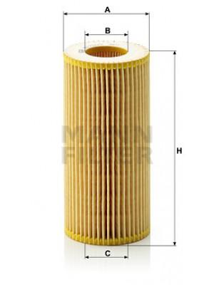 MANN-FILTER HU 721/2 x - Ölfilter