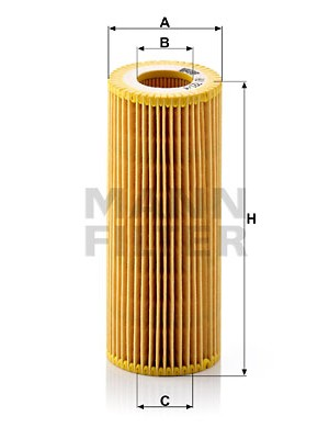 MANN-FILTER HU 721/4 x - Ölfilter