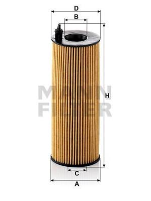 MANN-FILTER HU 721/5 x - Ölfilter
