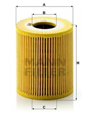 MANN-FILTER HU 818 x - Ölfilter - evotop