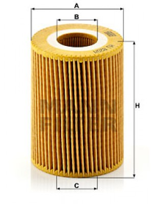 MANN-FILTER HU 820/1 y - Ölfilter