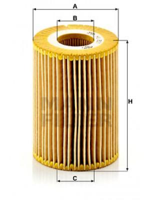 MANN-FILTER HU 821 x - Ölfilter
