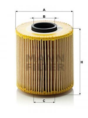 MANN-FILTER HU 921 x - Ölfilter - evotop