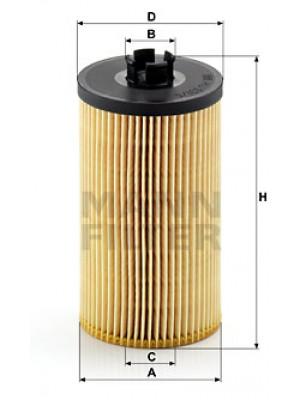 MANN-FILTER HU 931/5 x - Ölfilter - evotop