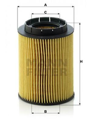 MANN-FILTER HU 932/6 n - Ölfilter - evotop