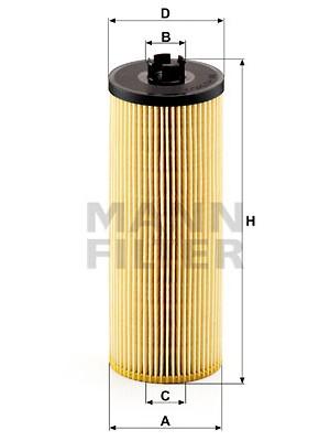MANN-FILTER HU 945/2 x - Ölfilter - evotop
