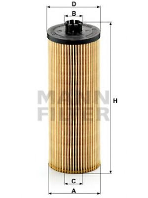MANN-FILTER HU 947/2 x - Ölfilter - evotop