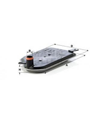 MANN-FILTER H 2826 KIT - Hydraulikfilter, Automatikgetriebe