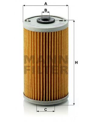 MANN-FILTER H 614 x - Ölfilter