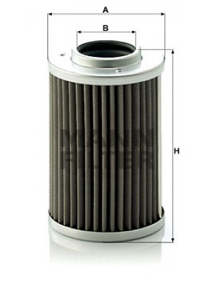MANN-FILTER H 710/1 x - Hydraulikfilter, Automatikgetriebe