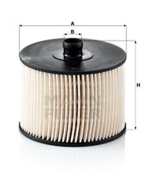 MANN-FILTER PU 1018 x - Kraftstofffilter