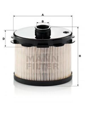MANN-FILTER PU 1021 x - Kraftstofffilter