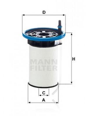 MANN-FILTER PU 7005 - Kraftstofffilter