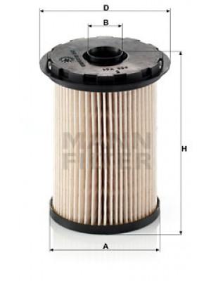 MANN-FILTER PU 731 x - Kraftstofffilter