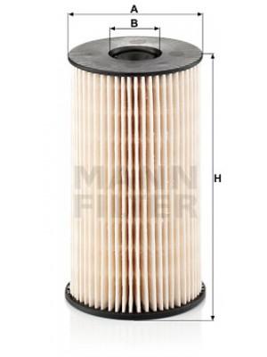 MANN-FILTER PU 825 x - Kraftstofffilter