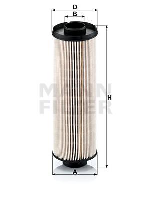 MANN-FILTER PU 855 x - Kraftstofffilter