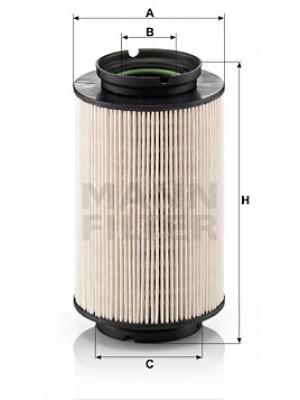 MANN-FILTER PU 936/2 x - Kraftstofffilter