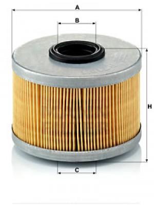 MANN-FILTER P 716/1 x - Kraftstofffilter