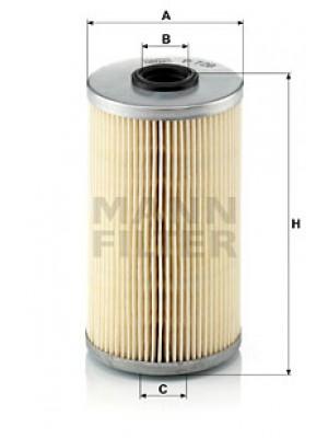 MANN-FILTER P 726 x - Kraftstofffilter