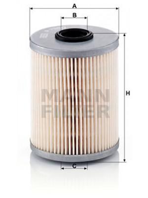 MANN-FILTER P 733/1 x - Kraftstofffilter