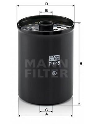 MANN-FILTER P 945 x - Kraftstofffilter