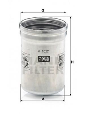 MANN-FILTER W 1022 - Ölfilter