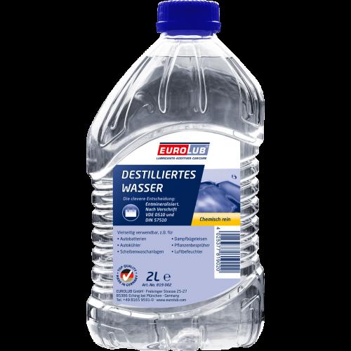 Eurolub Destilliertes Wasser 2l