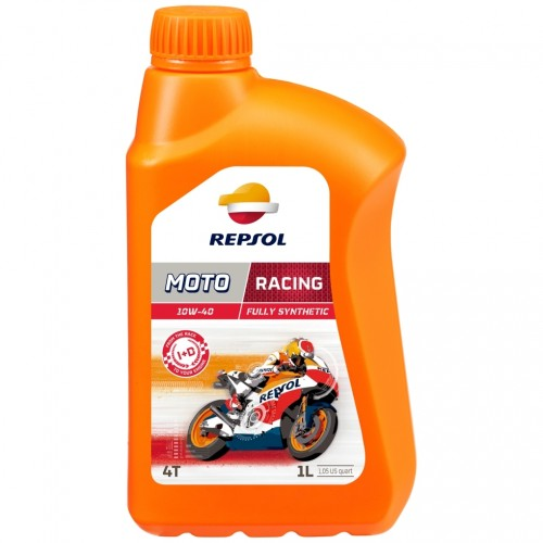 Repsol Motorrad Motoröl MOTO RACING 4T 10W40 1 Liter