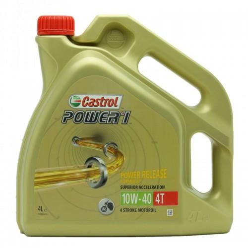 Castrol Power 1  4T 10W-40 Motorrad Motoröl 4l